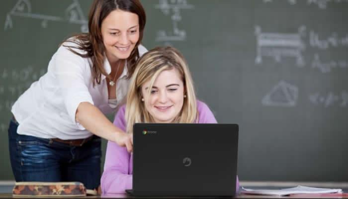 chromebook na Educação