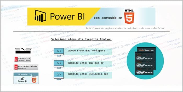 Power BI com HTML 5